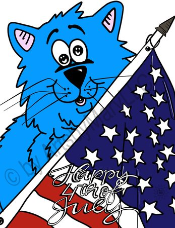 Fat Cat  4th of July