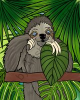Winifred Sloth - Standing
