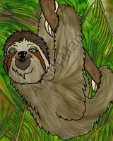 Winifred Sloth - Hanging in There